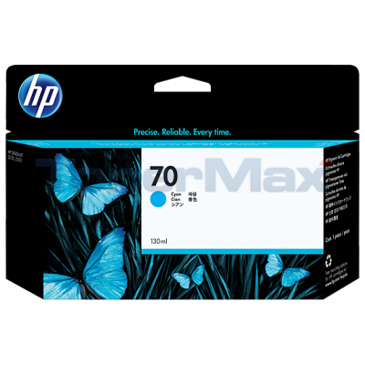 HP DESIGNJET Z2100 NO 70 INK CYAN 130ML